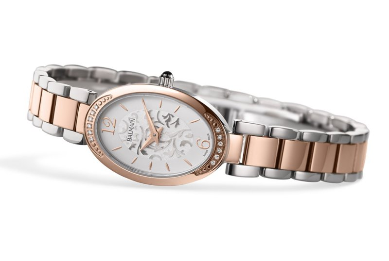 Die neue Madrigal Lady Oval II von Balmain Watches